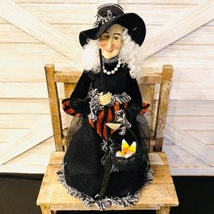 Standing Witch Halloween Decoration